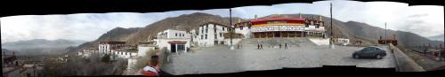 Drepung Monastery overlooking Lhasa
