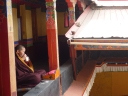 Nun at Tsamkhung Nunnery