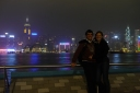 HK skyline and us