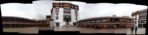 Potala Palace Courtyard
