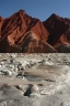 The red sand mountains